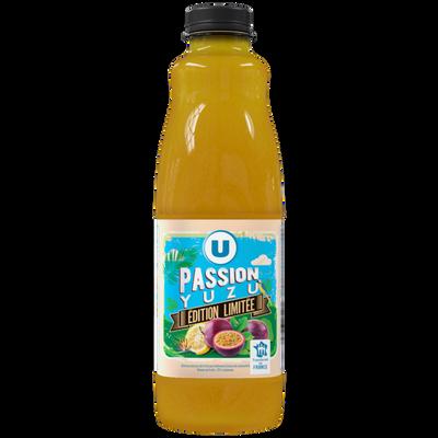 Nectar passion yuzu U, bouteille en plastique de 1L, edition limitée