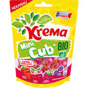 Kréma Krema Mini Cub Bio Fruits Rouges 130g