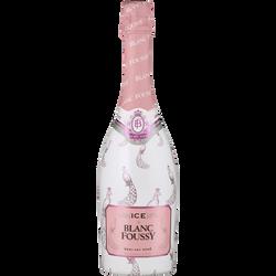 Vin rosé mousseux BLANC FOUSSY ice, 75cl