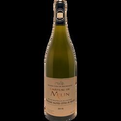 Bourgogne Hautes Côtes/Beaune AOP blanc château De Melin bio 2018 75cl