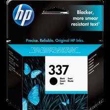 Cartouche d'encre HP pour imprimante, C9364EE noir n°337, sous blister