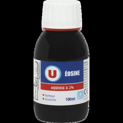 Éosine aqueuse 2% U, bouteille de 100ml