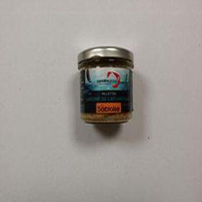Rillettes de sardines de l'atlantique au chorizo La Sablaise 90G