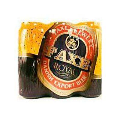 Bière blonde, FAXE ROYAL LAGER, 6x50cl