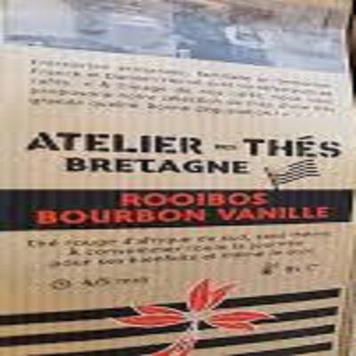 Thé rooibos bourbon vanille 100gr atelier des cafés
