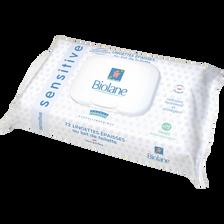 Lingettes épaisses sensitive au lait de toilette BIOLANE, X72