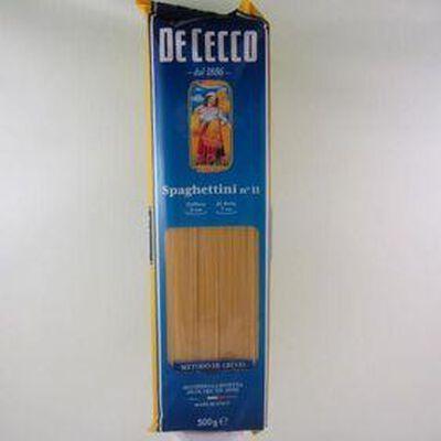 Pâtes Spaghettini DE CECCO ,500g