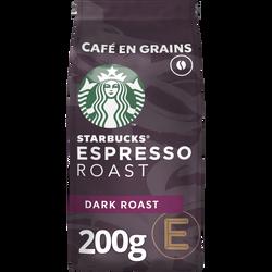 STARBUCKS grains espresso roast, sachet 200g