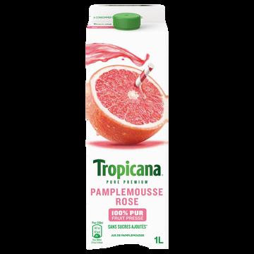 Tropicana Pur Jus De Pamplemousse Rose, Tropicana, Pure Prémium, 1l