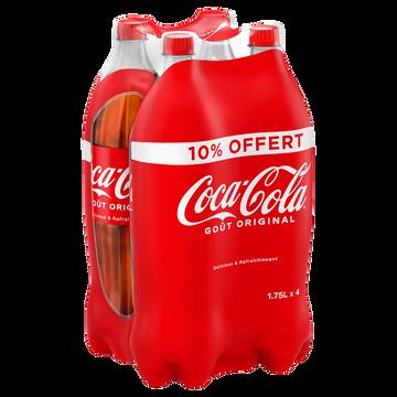 Coca Cola Coca-cola Pet 4x1,75 Litre Dont 10% Offert