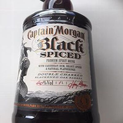 CAPTAIN MORGAN BLACK SPICIED 1L