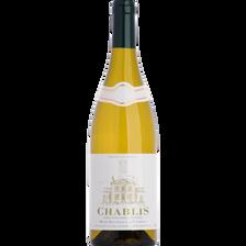Vin blanc AOC CHABLIS, bouteille de 75cl