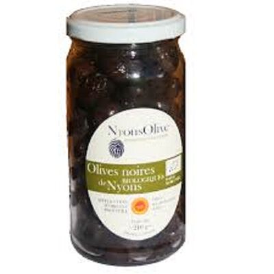 OLIVES NOIRES NYONS 350G ARO