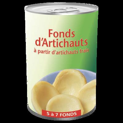 Fonds d'artichauts Bien Vu, boîte de 1/2, 210g