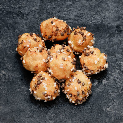 Chouquette aux pépites de chocolat, 1 pièce, 8g