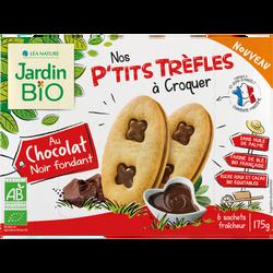 JB P'TITS TRÈFLES CHOCO NOIR