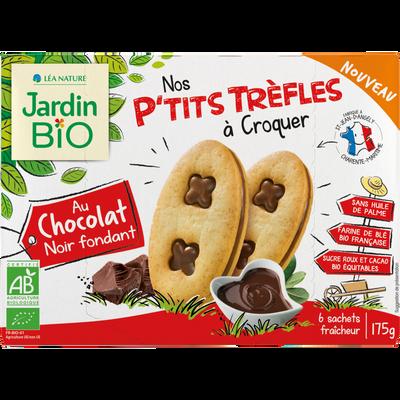 P'tits trèfles choco noir JARDIN BIO
