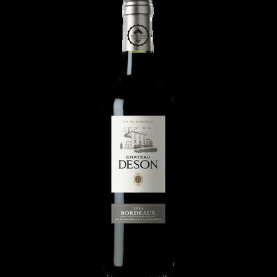"""Vin rouge AOP Bordeaux """"Château DESON"""", bouteille de 75cl"""