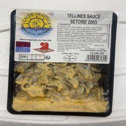 Tellines sauce sétoise, claude traiteur, 200g