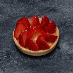 Tartelette fraise, décongelé, 1 pièce, 120g