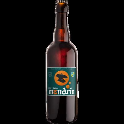Bière au sapin MANDRIN 8°, bouteille 75cl