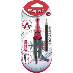 Compas bague Stop & Safe MAPED, sous blister