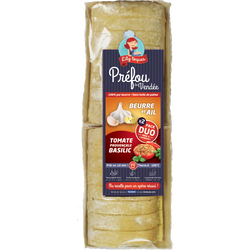 Duo pack beurre et ail tomate provençale basilic LILY TOQUES, 280g
