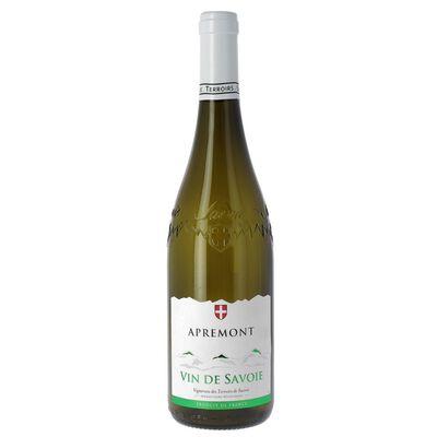 Vin blanc de Savoie Apremont  AOP, bouteille de 75cl