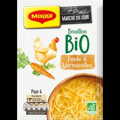 Potage poule aux vermicelles bio MAGGI, 65g