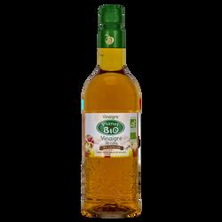 Vinaigre de cidre bio PLANET BIO, bouteille en plastique de 75cl