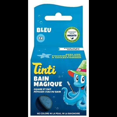 Balle de bain magique bleu TINTI rl