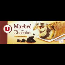Gateau marbré chocolat U, étui de 300g