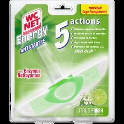 Bloc 5 actions citrus fresh WC NET energy