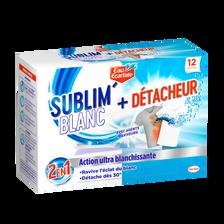 Eau Ecarlate Décolor Stop 2 En 1 Ultra Blanc Et Détachant , 12 Sachets