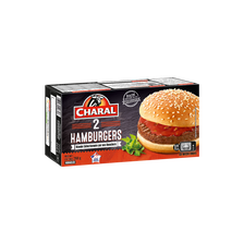 """Hamburger """"Humm"""" CHARAL, 2x130g. Origine de la viande : France"""