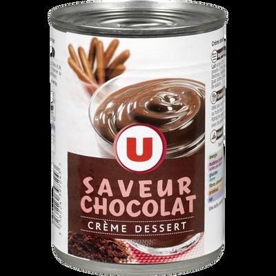 Crème dessert au chocolat U, boîte de 400g