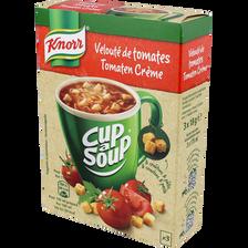 Knorr Velouté Instantanée De Tomates Cup A Soup , 3 Portions De 18g