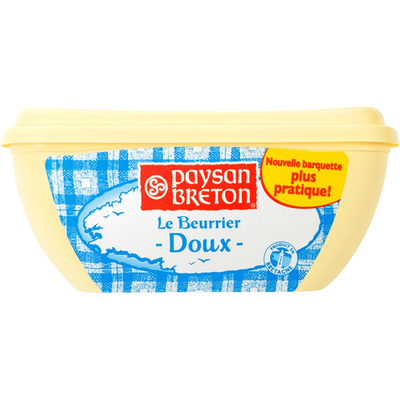 Beurre doux PAYSAN BRETON, 250g