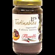 Florelli Tapenade D'olives Noires Florelli, Pot En Verre De 190g