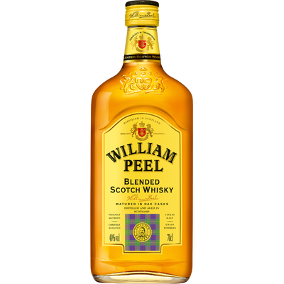Scotch whisky WILLIAM PEEL, 40° 70cl