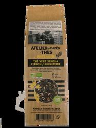 Thé Citron Gingembre Bio Atelier des Comptoirs 80g