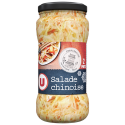 Salade Chinoise mélange de légumes variés en saumure U, 190g