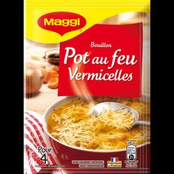 Pot au feu vermicelle saveurs à l'ancienne déshydratée MAGGI, 57g, 1l