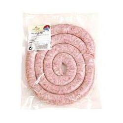 Saucisse roulée fine pur porc à griller, 1 pièce