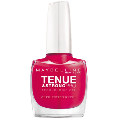Vernis à ongles tenue & strong rose fuschia 180 MAYBELLINE, nu