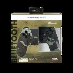Manette bluetooth ps4 UNDER CONTROL Camouflage vert