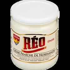 Crème fraîche épaisse de Normandie REO, 42% de MG, 40cl