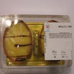 Tartelette au citron x2 150g