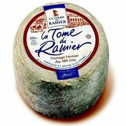 La Tome du Ramier, lait cru de vache, 30%MG