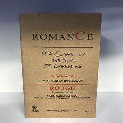 AOP ROMANCE ROUGE CARAMANIAC BIB 3L